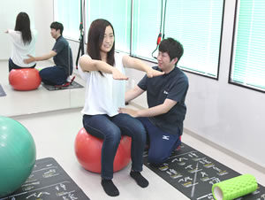 腰痛予防のトレーニング