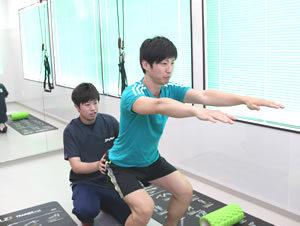 藤枝市 坂本接骨院・鍼灸院のスポーツ外傷の治療写真03