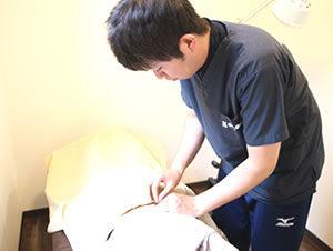 鍼灸治療の写真1